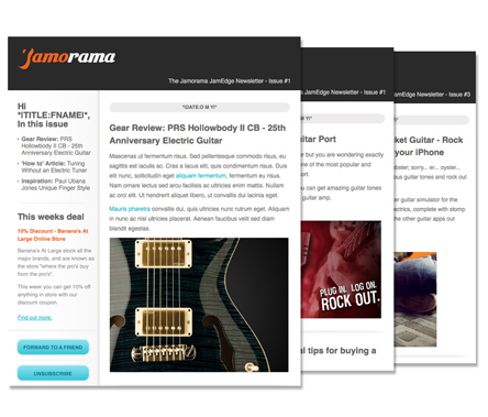 The JamEdge Newsletter